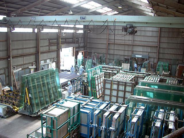 加工工場内部