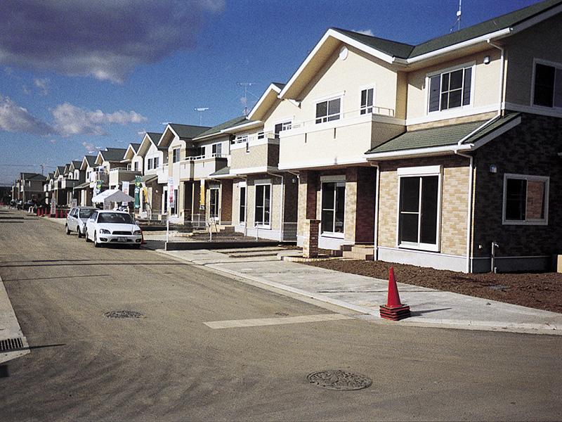 分譲住宅施工例
